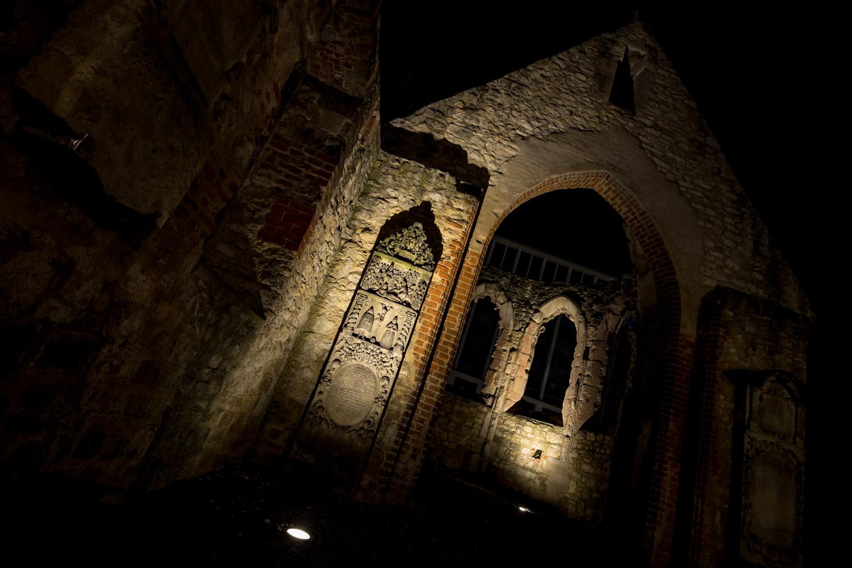 Ruine der Nikolaikapelle - Hannover