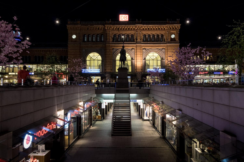 Hannover Hauptbahnhof, Niki-de-Saint-Phalle-Promenade